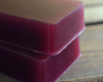Moroccan Fig Soap with Apricot Seeds, Handmade Glycerin Soap