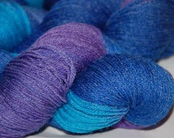 Studio June Yarn, Bamboo La La - Superwash Merino, Bamboo     Colorway: Deep Blue Sea