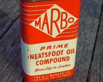 Marbo Neatsfoot Oil Compound