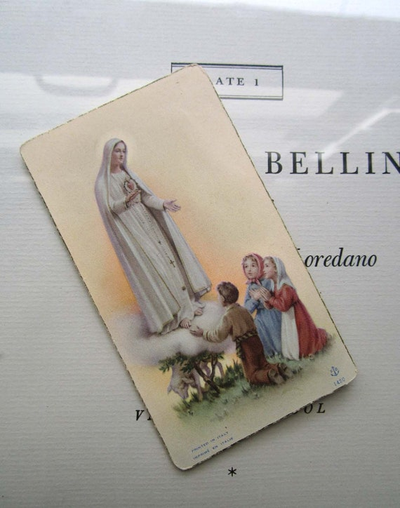 Virgin Mary with Children Card