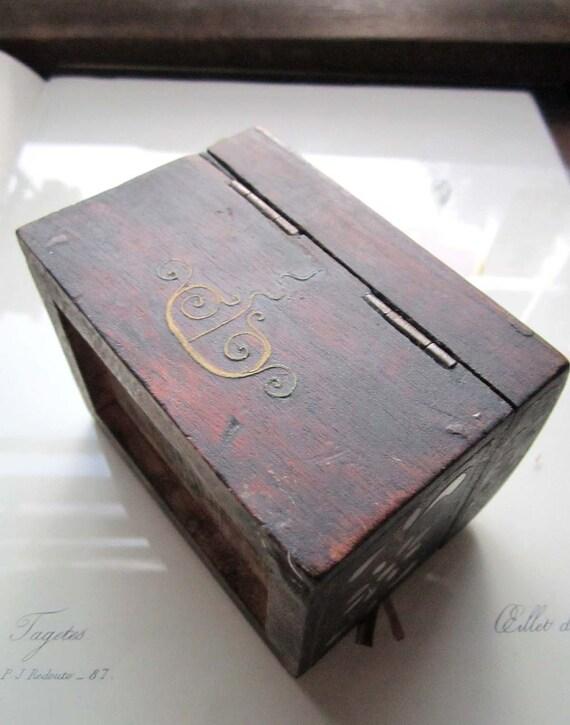 Ornate Vintage Wood Box