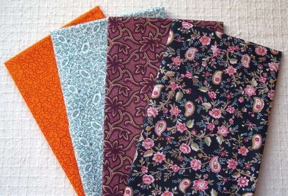 Civil War Medley - 4 Fat Quarter Bundle (No.47) - Cotton Quilt Fabric