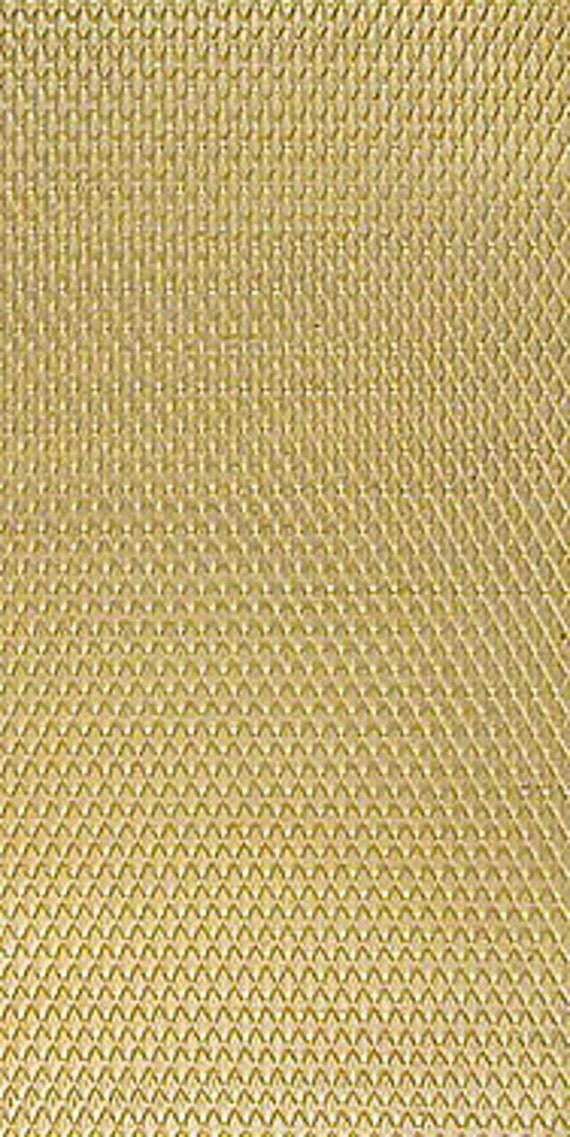 "Basket Weave Pattern - 2.5"" x 6"" Brass Texture Plates - Basket Weave Pattern"