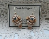 Pook's Little Beige Sheep Danglies
