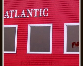 "Lunenburg, Nova Scotia, Canada Photograph. Atlantic Canada 5"" x 5"" Photo"