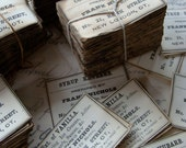One Dozen Pharmacy and  Drug Co. Labels Antique 1900s