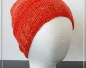 Falkland Wool Hat - Hand Dyed Hand Spun