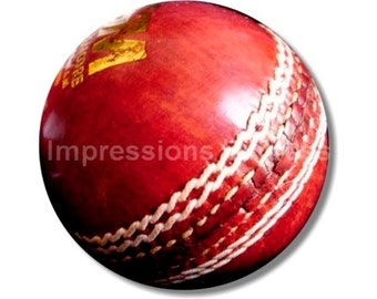 Cricket Ball Round Mousepad