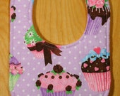 Cupcake Drool Bib for Marilyn