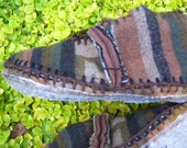 Non Slip Sole Coating / Outdoor Wear / Moccasin Sole Coating / Moccasin or Boot Option