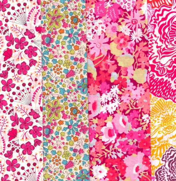 Lovely Selection of Fabric Scraps from Liberty of London F290