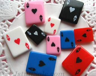 Colorful Playing cards 10 pcs Mixed set