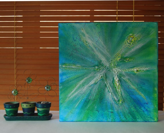 Aqua abstract art New zealand art abstract acrylic art painting turquoise original art contemporary art pearlescent wall art teal home decor