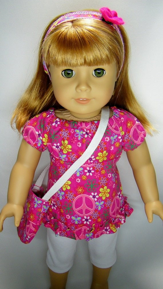 American girl doll outfit, 4 pieces