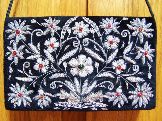 Evening Bag Indie Embellished Velvet to clutch or not to clutch
