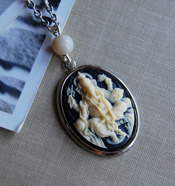 Ganesha Cameo Necklace
