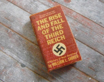 Miniature WWII History Book