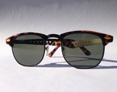 Vintage Classic ClubMaster Sunglasses in Brown Tortoise