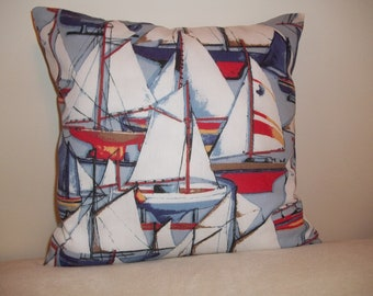 Sailing Pillow Covers - Set of 2