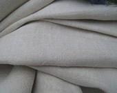 antique hemp linen roll 14.20y CURTAIN handloomed fabric cushy 23.22inches wide