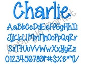 Machine Embroidery Design Alphabet Font Charlie Monogram INSTANT DOWNLOAD
