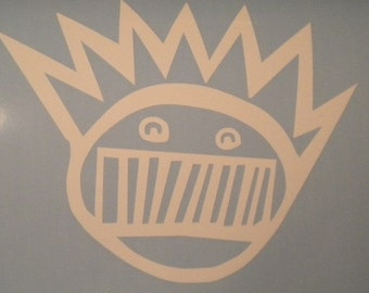 Ween Boognish vinyl laptop window car decal