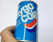 1978 Faygo Pop Can Dysfunctional and Old Export Flat Top