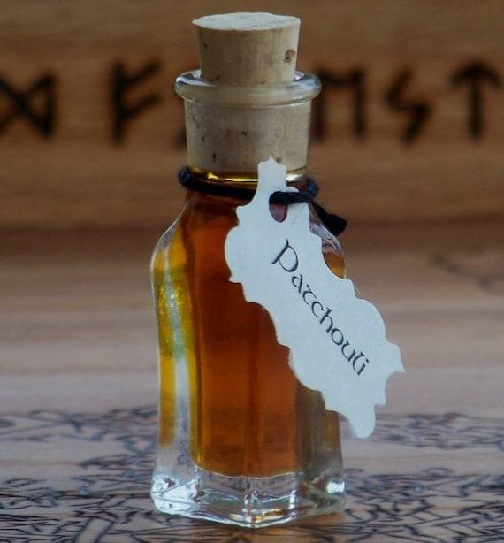 DARK PATCHOULI Artisan Alchemist Ritual Perfume Oil for Money, Prosperity, Financial Success, Land & Earth Magick, Fertility, Aphrodisia