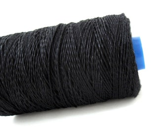Black Bamboo Cord 1mm - 10 meters / 32.8 ft  (CB1)