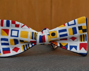 Nautical Flags  Bow tie