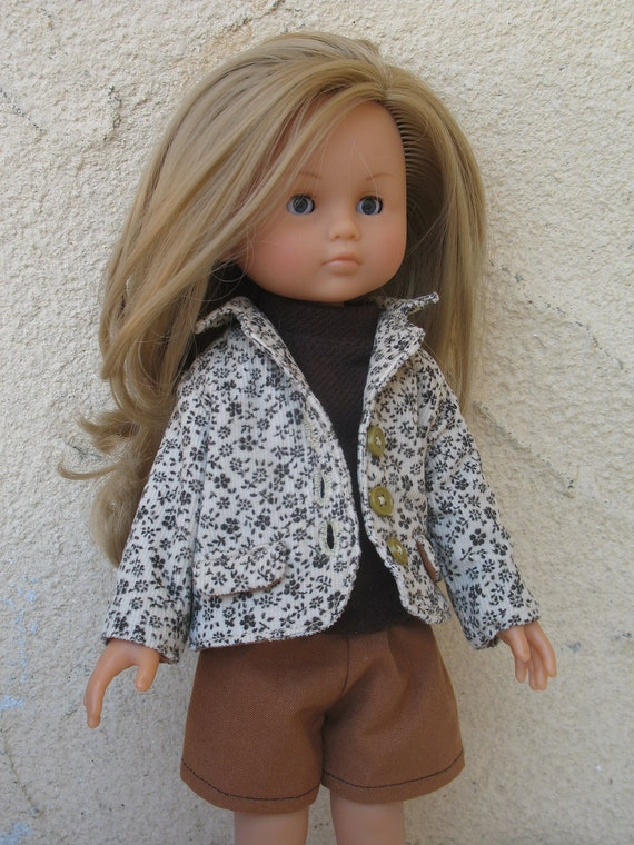 Corolle Les Cheries Doll Jacket,Top and Pants Set
