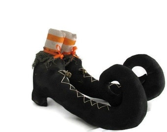 Halloween Witch Boots Custom Made