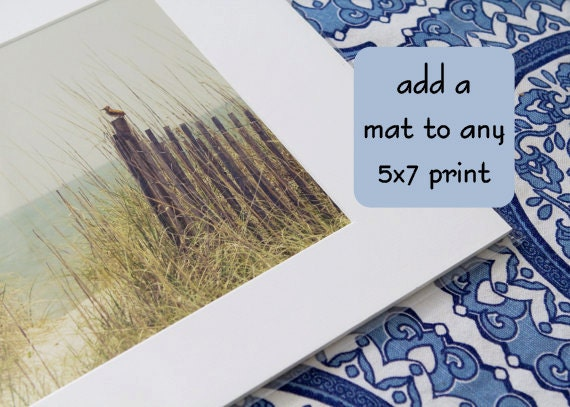 Add a Mat to Any 5x7 Print
