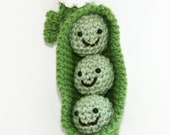 Peas in a pod three best friends gift baby shower, child toy 4 piece set triplet gift