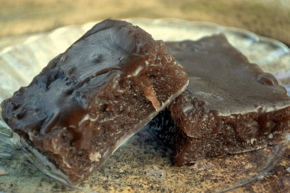 Fudge Brownie Soap - Death by Chocolate Vegan Soap