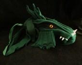 DRAGON Pouch DragonBorn custom Dice Bag / Wristlet Purse / Gadget Case/  Drawstring Pouch DnD Magic the Gathering Warcraft Warhammer Nerds