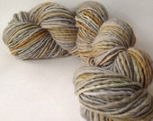 Grumpy Birds - handspun yarn, worsted weight