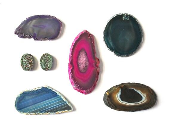 Gemstone Magnet Set (v22)