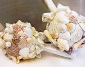 Sea Shell Bridal Bouquet Beach Wedding Bouquet Ocean