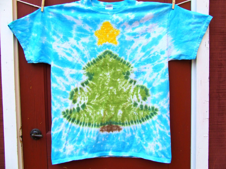 tie dye christmas tree - photo #32