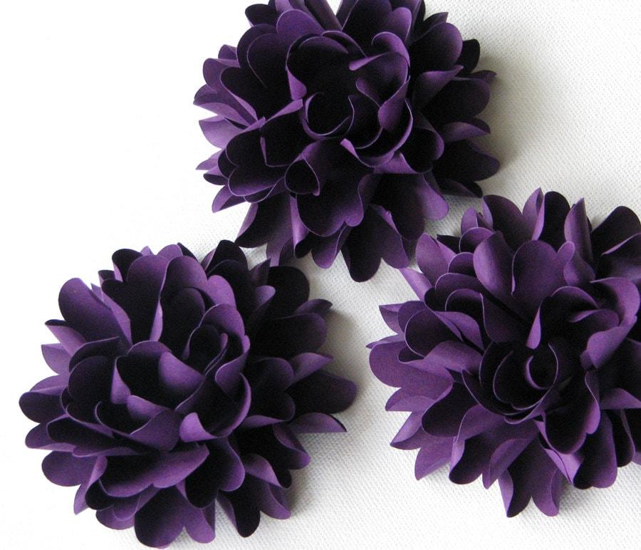 Paper Flowers For Weddings: Paper Flowers Beautiful Chrysanthemum Flowers For Weddings