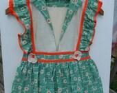 Vintage clothespin holder dress