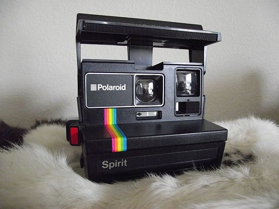 Vintage 1980's Polaroid Spirit Camera - Film-Tested & Working