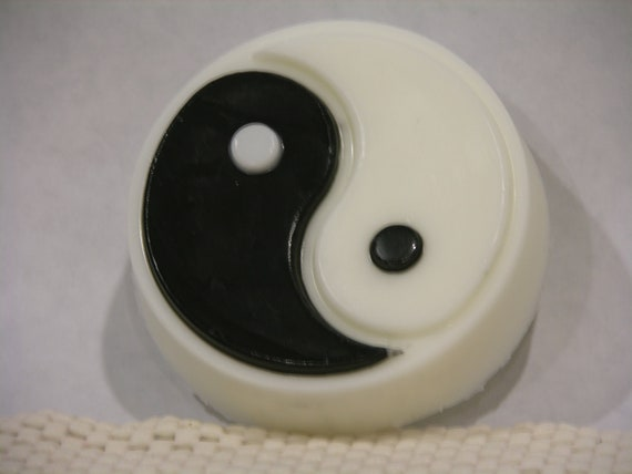 Yin yang soap yuzu scented gift decor hand made for Decoration murale yin yang