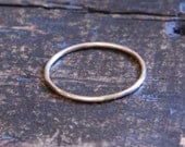 Everyday Stacking Ring Knuckle Ring in Gold Filled- Free Shipping