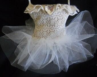Ivory Ballerina Sachet, Ivory Bridal sachet