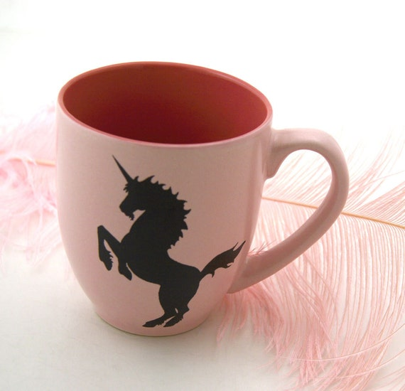 Personalized Mug Pink Unicorn Mug Can be Personalized