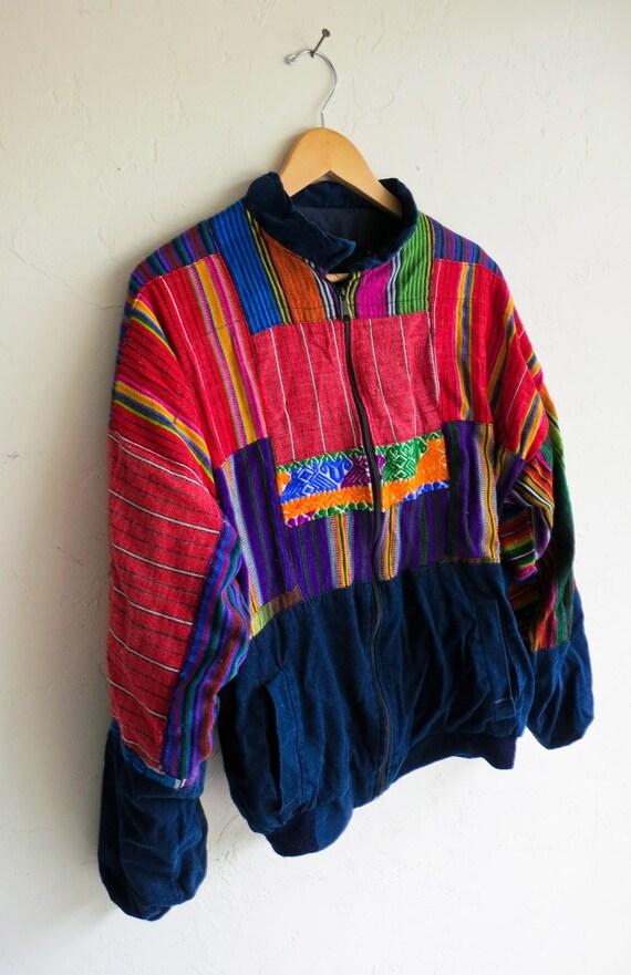 Ethnic Colorful Aztec Knit Jacket