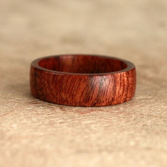 Mopani Wood Ring No. 33 Size 6 (07-03-2012)
