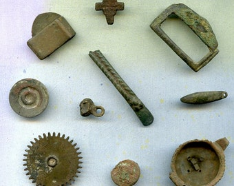 INSTANT COLLECTION... to use in your assemblage mixed media JEWELRY  X 748